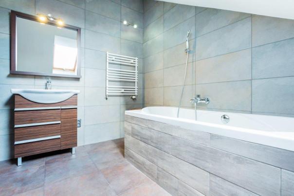 styl minimalistyczny w łazience