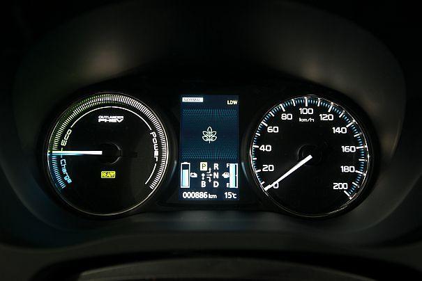 mitsubishi prędkościomierz