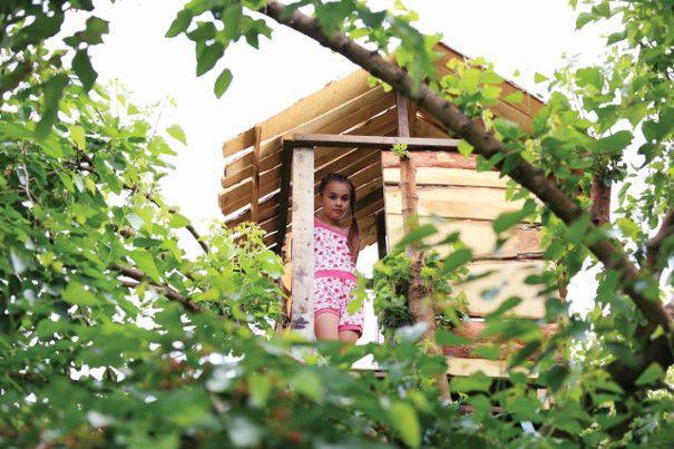 ogrodowy domek drewniany dla dzieci