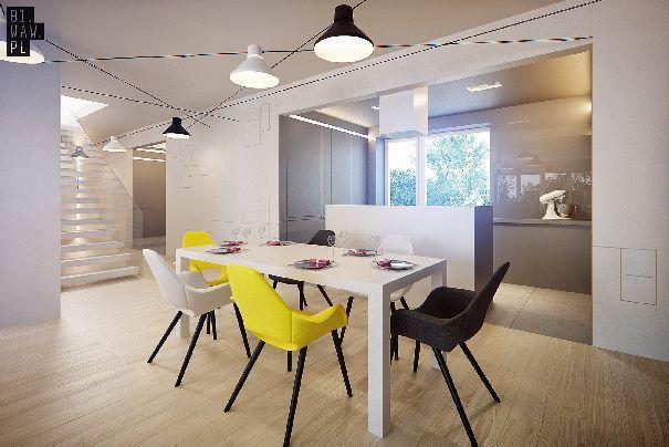 Dom, który powstał na warszawskim Bemowie to doskonały przykład jak zaprojektować wnętrze według nowoczesnych standardów, jednocześnie zachowując równowagę pomiędzy stylem i funkcjonalnością.