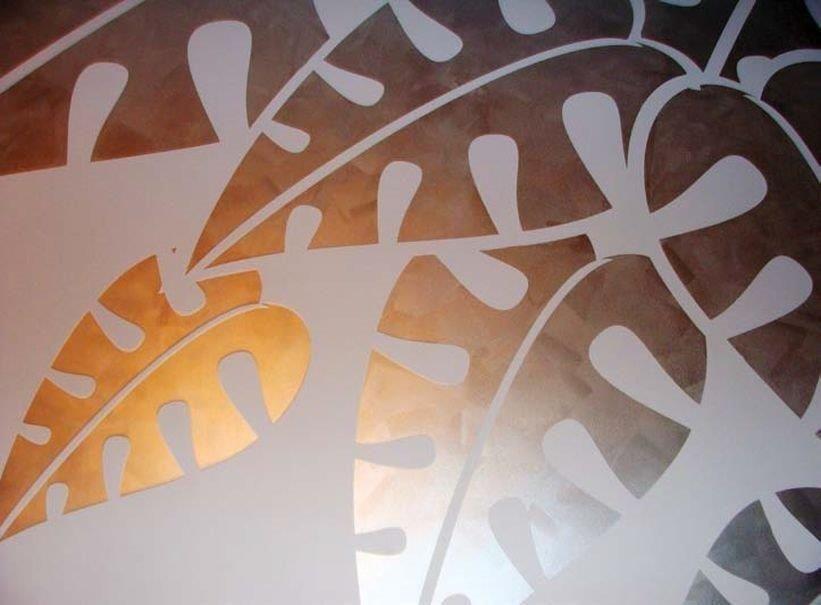 Farby I Tynki Dekoracyjne Ozdabianie ścian Strukturą